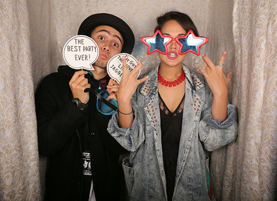 Adam's 21st @ Empyrean Photobooth Photos