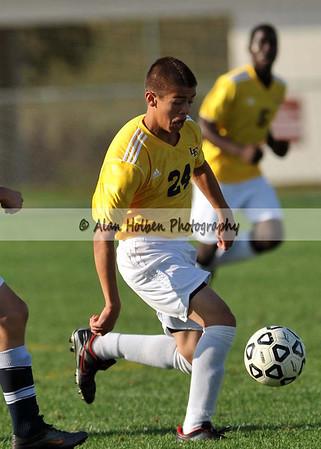 Boys Varsity Soccer - Grand Ledge at Eastern - Sept 20