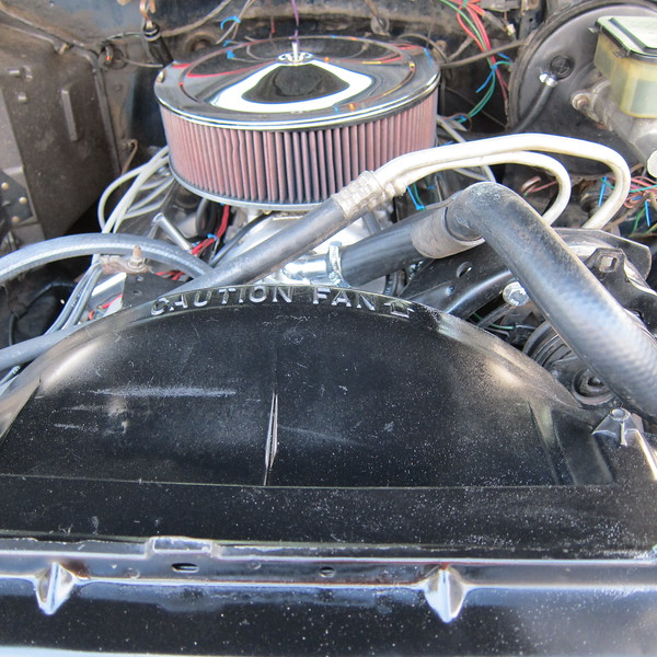 New intake, carb, valve covers, etc.