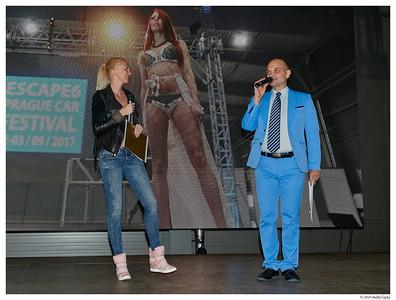 Prague Car Festival a Miss léta 2018 - sobota