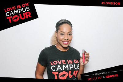 revlon & cosmopolitan love is on campus tour - university of south florida