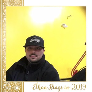 Ethan Rings in 2019 - Selfie Booth