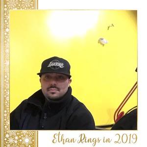 Ethan Rings in 2019 - Selfie Booth