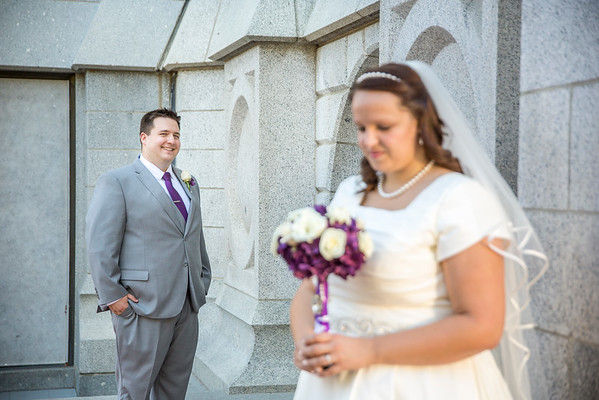 SLC Temple - Wedding Day Formals