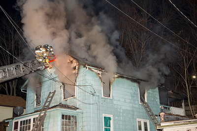 River St. Fire (Waterbury, CT) 12/29/17