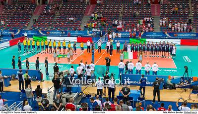 BRASILE - ITALIA #FIVBWorldLeague