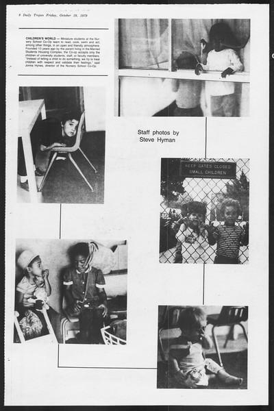 Daily Trojan, Vol. 87, No. 25, October 19, 1979