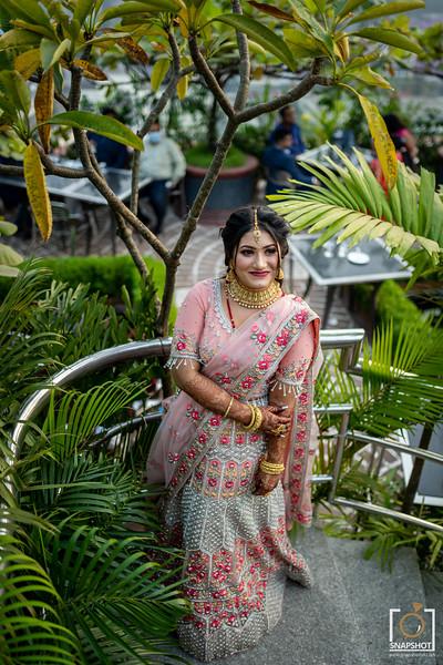 Riea & Rajen Bride's Ashirbad