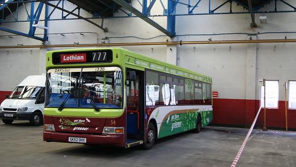 lothian buses doors open day 2011
