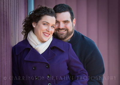 Melissa and Adam Engagement