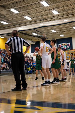 Boys Basketball: Loudoun County 54, Loudoun Valley 45 by Derrick Jerry on February 5, 2020