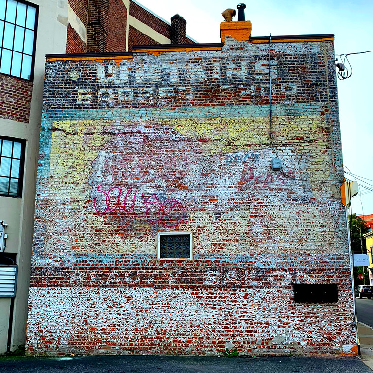 richmond fuzzygalore pepsi ghost sign