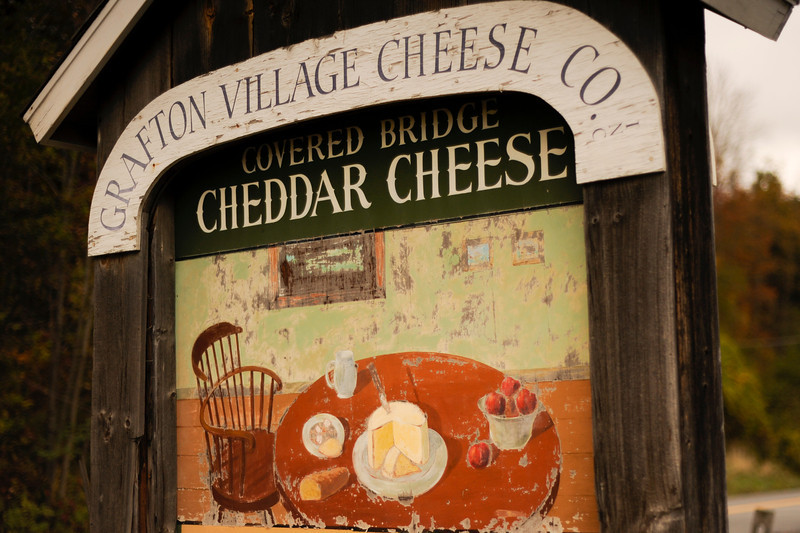 We enjoyed a fabulous cheese tasting at Grafton Village Cheese Co. in Brattlesboro, VT.  Try the 3-year-aged cheddar, the Leyden cheese (flavored with cumin), and the Clothbound Cheddar (which any Gruyere fan will like).