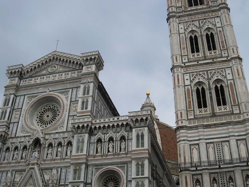 The Florence Cathedral exterior in Florence, Italy