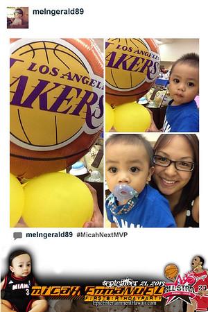Instagram Photobooth - Micah's 1st Birthday