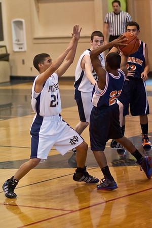 ND Basketball Freshman Chaminade