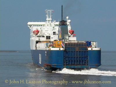 RO-PAX and RO-RO Ships 2002 - 2006