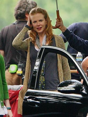 2009-07-02 - Nicole Kidman filming in Queens