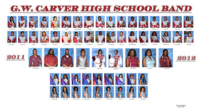 Carver Band Picture Day 2011- 2012
