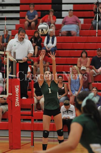 09-10-13 Sports Tinora @ Hicksville V-Ball