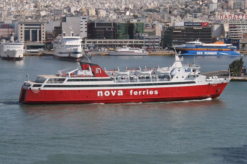 2008 - F/B PHIVOS arriving to Piraeus from Aegina.