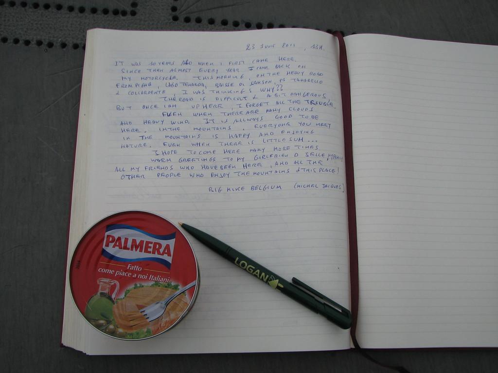 Mijn dagboek ligt bij Il Redentore