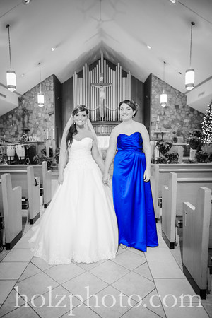 Kristina and Zach Creative Wedding Photos