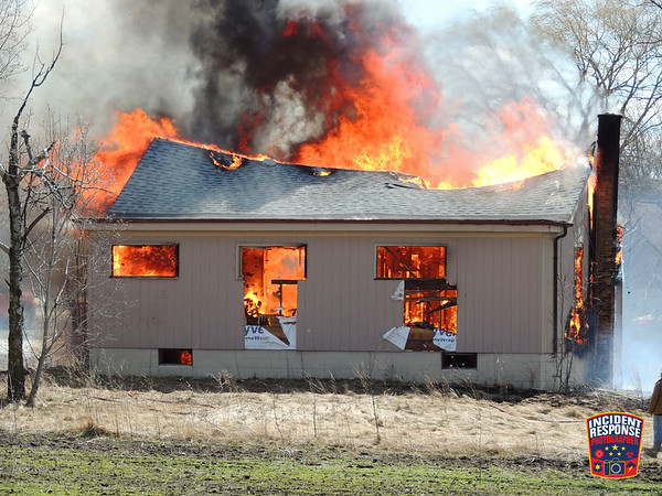 House burn on March 28, 2021