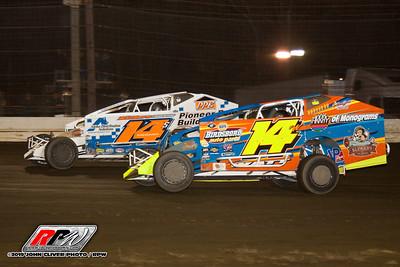 Bridgeport Speedway - 11/9/19 - John Cliver