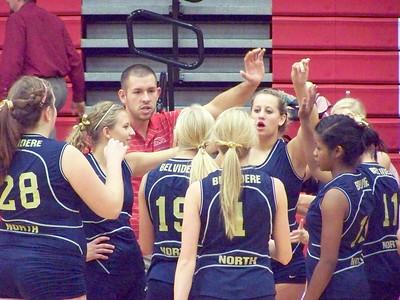 2009 - BNHS JV Volleyball 10-22