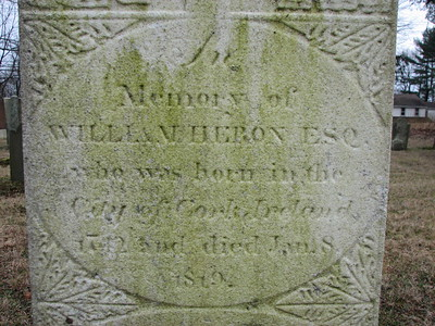 William Heron Grave