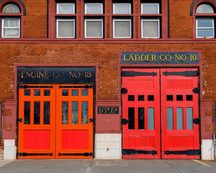 Engine 18 Ladder 10, Mt. Elliot Street, Detroit