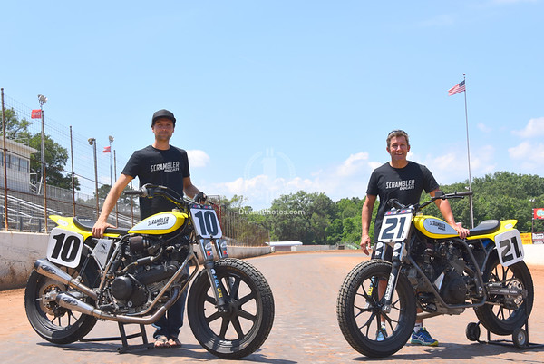 Troy Bayliss Flat Track Test