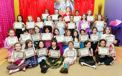 Girl Scouts Etiquette Class - May 14, 2015