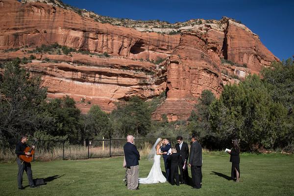 Craig & Lauren's Sedona Wedding