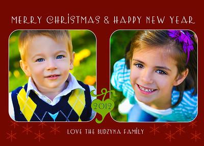 Budzyna Holiday Cards
