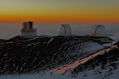 Up to Mauna Kea