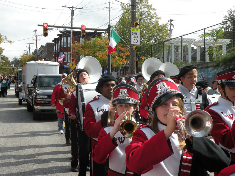 Lutheran-West-Marching-Band-At-Columbus-Day-Parade-October-2012--50.jpg