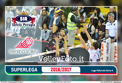 6ª ritorno #SuperLega «Sir Safety Conad Perugia - Diatec  Trentino»