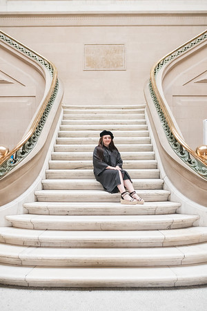 Lauren Graduation MICA