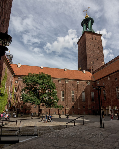 Courtyard of Stockholm City Hall