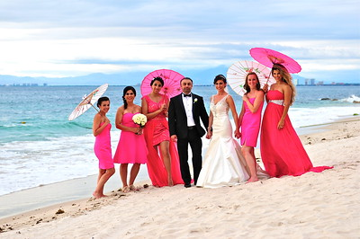 Boda Janine and Ramin, Garza Blanca Hotel, Puerto Vallarta , Jalisco Mexico by Award Winning Photographer Andres Barria Davison