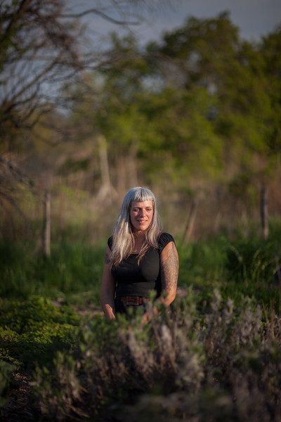 Edible Hudson Valley Magazine shoot on women herbalists. Lauren Giambrone
