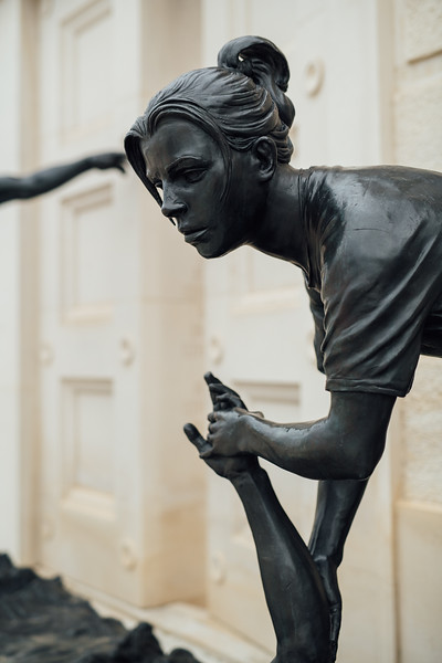 Bronzed Statue