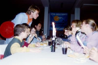 1992-1993 - Activiteit - Kaas & Wijnavond