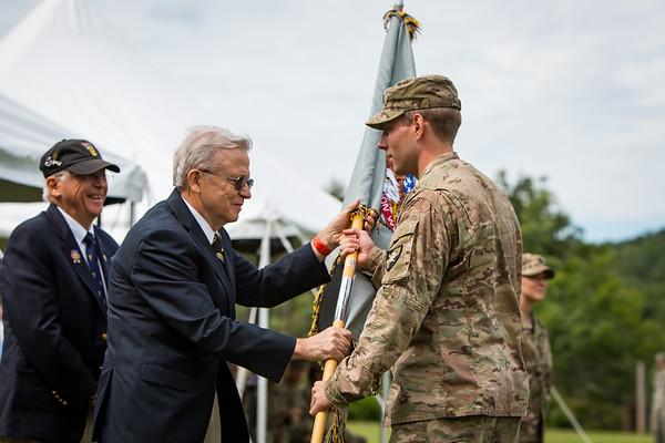 Cadet Field Training II - Flag Presentation July 2017