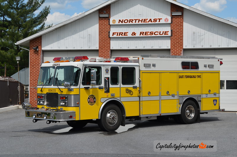 Northeast Fire & Rescue (East Pennsboro Township) Rescue 20: 1990 Spartan Gladiator/Darley 250/400