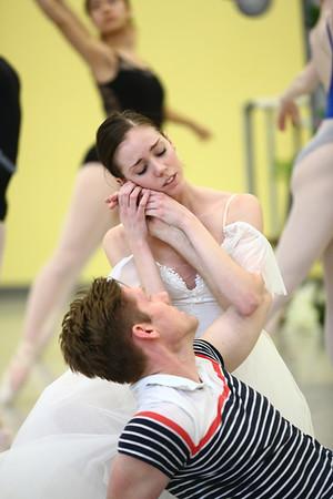 Giselle Rehearsal
