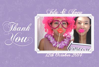 Ida & Joey Wedding 12th October 2014