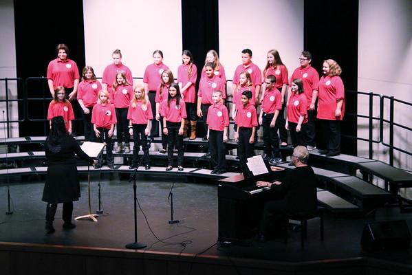 WHS / WMS Choir Concert @ WHS  101319